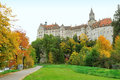 Sigmaringen castle in Germany Stock Photography
