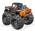Cartoon Monster Truck Stock Images
