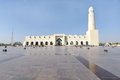 Broad view of Grand Mosque of Doha, Qatar Stock Photography