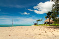 Beautiful beach  in Thailand Royalty Free Stock Photos