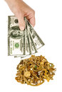 Cash For Gold 1 Royalty Free Stock Photo