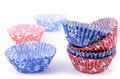 Baking cups Stock Photo