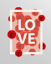 Red Roses Floral Design Elements. Vector Illustration. Royalty Free Stock Photo - 72903595
