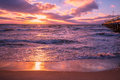 Sunset Over Sea Stock Images - 72908844