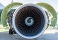 Turbofan Engine General Electric CF6-80C2 Royalty Free Stock Photography - 72915217