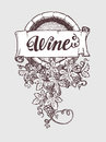 Wine And Winemaking Vintage Vector Barrel Stock Images - 72928774