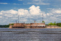 Emperor Peter The Firs Fort In The Gulf Of Finland, Russia Royalty Free Stock Image - 72930206