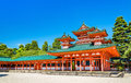 Soryuro, Castle In The Corner At Heian Shrine In Kyoto Stock Photos - 72947233