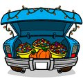 Trunk Or Treat Royalty Free Stock Photos - 72950128