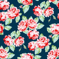 Seamless Pattern With Roses Stock Photos - 72957233