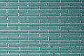 Aqua Tile Bricks With White Grout Texture Stock Images - 72963044