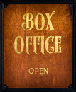 Box Office Sign Royalty Free Stock Photography - 72977317