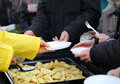 Warm Food For The Poor And Homeless Stock Photography - 72979692