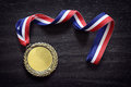 Olympic Gold Medal Royalty Free Stock Photography - 72996287