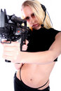Sexy Woman With Guns Stock Photo - 736350