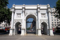 Marble Arch Front Royalty Free Stock Image - 739836