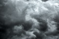 Cloudy Stormy Black And White Dramatic Sky Royalty Free Stock Photography - 73000837