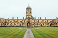Courtyard In Christ Church College Stock Photos - 73023043