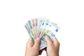 Money In The Hand. Royalty Free Stock Image - 73036016