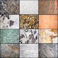 Collage Of Marble Surface Stock Photos - 73047003