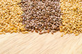 Difference Of Golden Linseeds And Brown Linseeds (flax Seeds) Stock Photos - 73067443