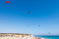 AVDIMOU, CYPRUS/UK - JULY 25 : Learning To Kite Surf In Avidmou Royalty Free Stock Photo - 73082115