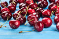 Red Cherries Stock Images - 73095124