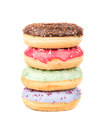 Stack Of Donuts Stock Photos - 73096133