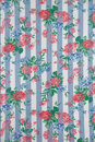 Flowery Table Cloth Stock Image - 7311311