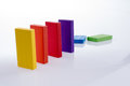 Color Dominoes Royalty Free Stock Image - 73137736