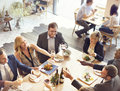 Business People Party Cheers Enjoying Food Concept Royalty Free Stock Photos - 73155978