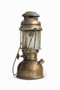 Vintage Kerosene Oil Lantern Lamp On Isolate Background Stock Images - 73158574