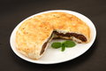 Sloced View Dilkush -Coconut & Tutti Fruity Stuffed Bread , Stock Photography - 73174282
