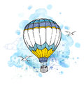 Abstract Background With Air Balloon Stock Photography - 73176242