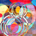 Abstract Watercolor Geometric Background Stock Image - 73179851