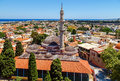 The Suleyman Mosque In The Old Town Of Rhodes.Rhodes Island.Greece Stock Photography - 73186472