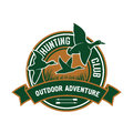 Duck Hunting Retro Badge For Hunters Club Design Royalty Free Stock Photos - 73195278