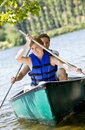 Couple Rowing Boat Royalty Free Stock Photo - 7329835