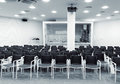 Modern Press Conference Room Royalty Free Stock Image - 73202586
