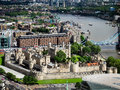 LONDON/UK - JUNE 15 : View Of The Tower Of London On June 15, 20 Royalty Free Stock Images - 73212459