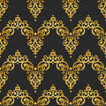 Vector Seamless Pattern In Victorian Style. Royalty Free Stock Photo - 73229025