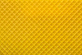 Yellow Wafer Textured Surface Stock Photography - 73252792