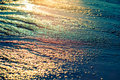 Sun Glowing On Colorful Sand Stock Photo - 73278730