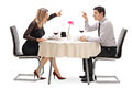 Angry Couple Arguing With Each Other Stock Photography - 73365262