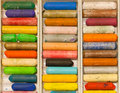 Many Colors Of Crayons Set For Design, Ideas, Painting And Drawing. Royalty Free Stock Photos - 73378448