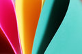 Abstract Paper Stack Defocused Colourful Background Stock Photography - 73381602