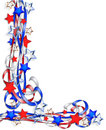 Patriotic Border Stars And Stripes Royalty Free Stock Photography - 7359177
