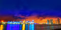 Miami Downtown Skyline Sunset Florida US Stock Photo - 73511890