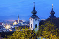 Steyr Panorama With St. Michael S Church Royalty Free Stock Photography - 73553557