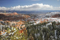 Bryce Canyon In Winter Royalty Free Stock Photos - 7366658